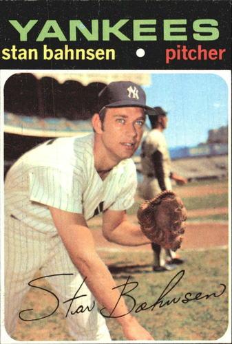 Photo of 1971 Topps #184 Stan Bahnsen