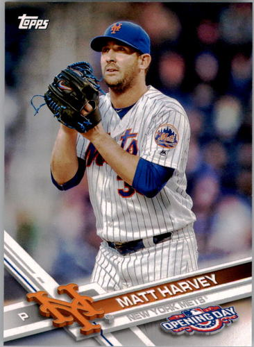 Photo of 2017 Topps Opening Day #89 Matt Harvey