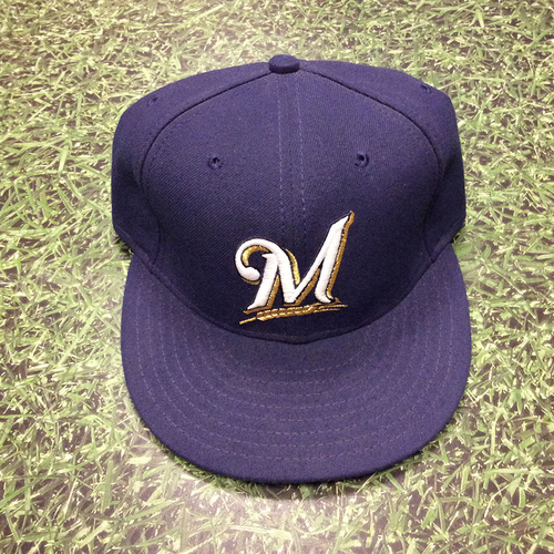 Nyjer Morgan 2011 Game-Used Cap - NL Central Division Title Clinch Game