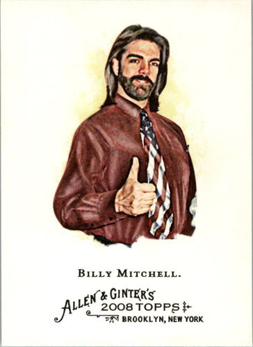 Photo of 2008 Topps Allen and Ginter #119 Billy Mitchell
