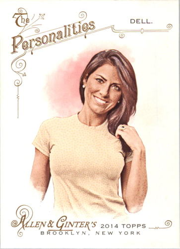 Photo of 2014 Topps Allen and Ginter #164 Jenny Dell
