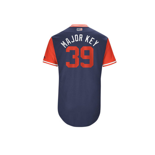 "Photo of Keynan ""Major Key"" Middleton Los Angeles Angels Game-Used Players Weekend Jersey"