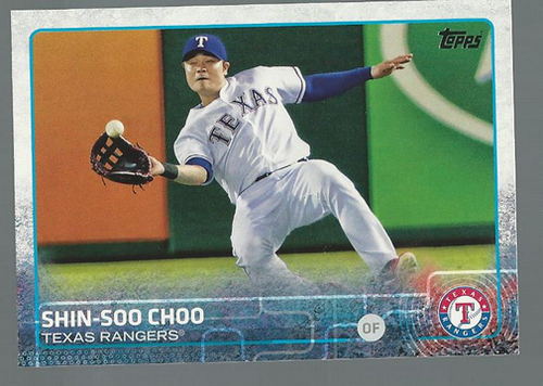 Photo of 2015 Topps #320 Shin-Soo Choo