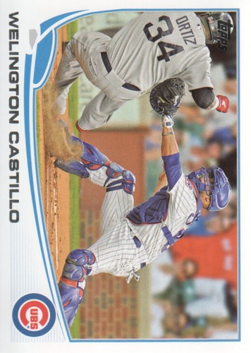 Photo of 2013 Topps #551 Welington Castillo
