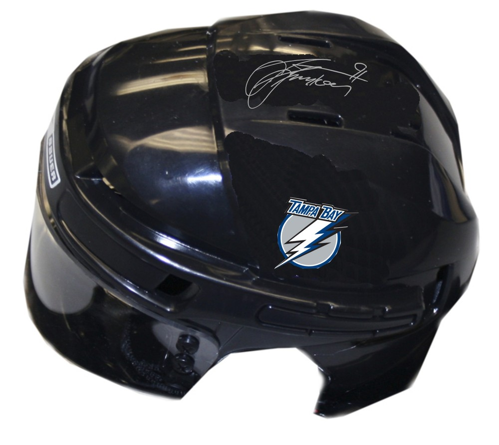Steven Stamkos Signed Lightning Mini-Helmet