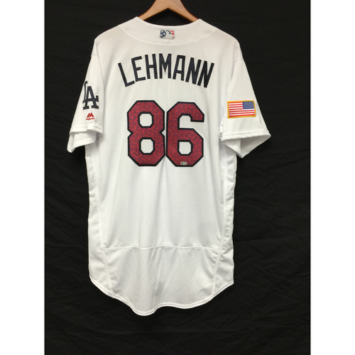 Photo of Danny Lehmann Team-Issued 4th of July Jersey