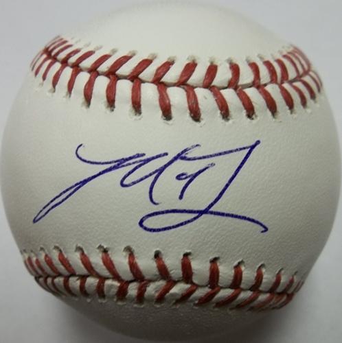 Photo of Madison Bumgarner Autographed Baseball