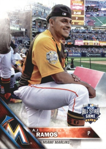 Photo of 2016 Topps Update #US253 A.J. Ramos AS