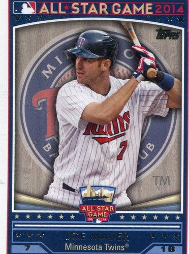 Photo of 2014 Topps All-Star FanFest #WR06 Joe Mauer