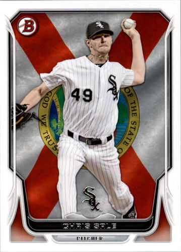 Photo of 2014 Bowman Hometown #121 Chris Sale -- Red Sox post-season