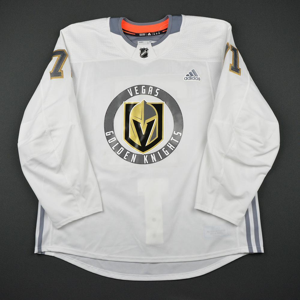 William Karlsson Warmup Worn/Autographed Practice Jersey - Vegas Golden Knights