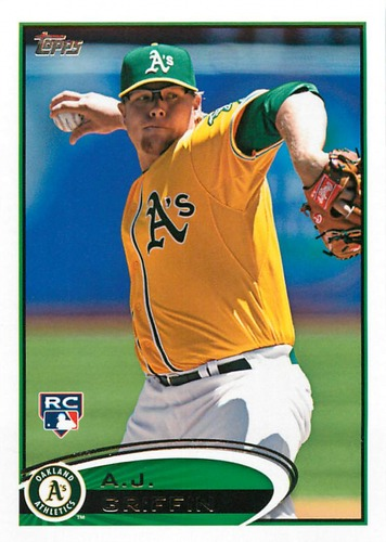 Photo of 2012 Topps Update #US34 A.J. Griffin RC