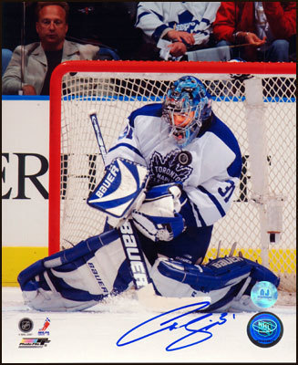 CURTIS JOSEPH Toronto Maple Leafs SIGNED 11x14 Photo