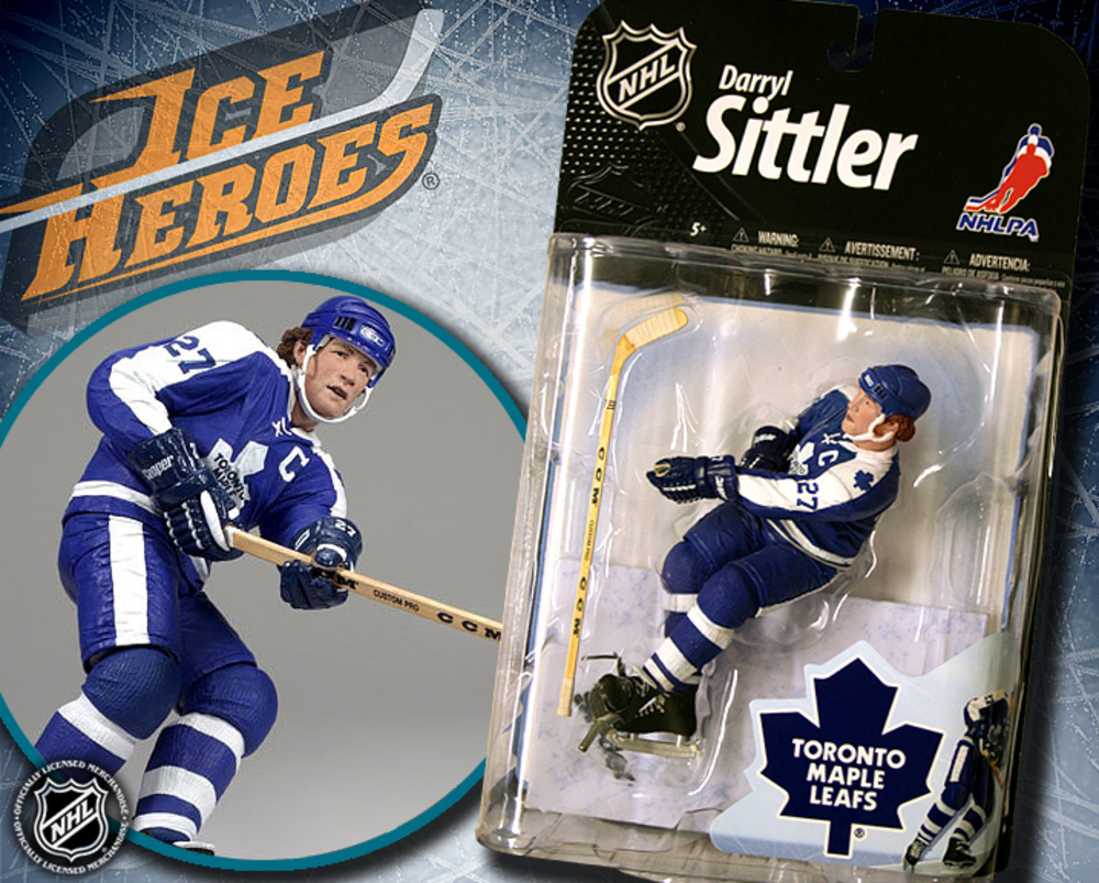 DARRYL SITTLER Mcfarlane 22 Figure - MIB - Toronto Maple Leafs
