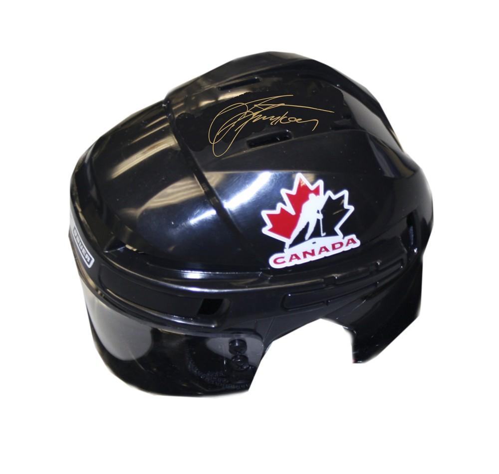 Steven Stamkos Signed Team Canada Mini-Helmet