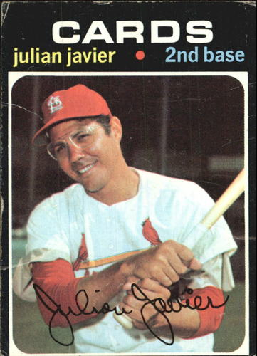 Photo of 1971 Topps #185 Julian Javier