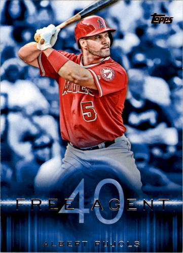 Photo of 2015 Topps Free Agent 40 #F401 Albert Pujols