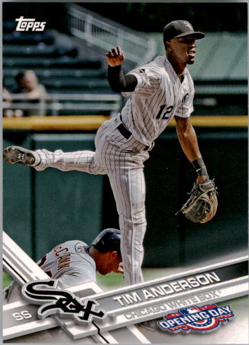 Photo of 2017 Topps Opening Day #91 Tim Anderson