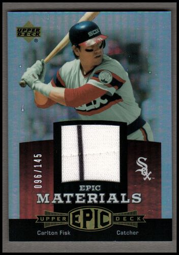Photo of 2006 Upper Deck Epic Materials Red #CF Carlton Fisk Jsy/145