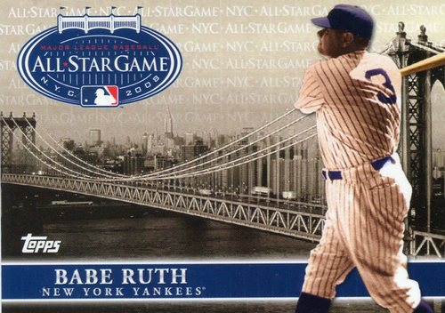 Photo of 2008 Topps All-Star FanFest #1 Babe Ruth