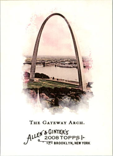 Photo of 2008 Topps Allen and Ginter #122 The Gateway Arch