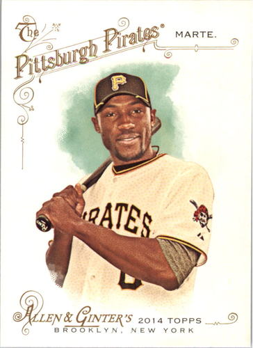 Photo of 2014 Topps Allen and Ginter #182 Starling Marte