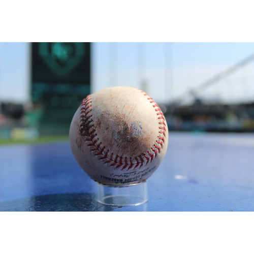 Photo of Game-Used Baseball: Nicky Delmonico 26th Career Hit, Avisail Garcia 516th Career Hit (CWS at KC - 9/12/17)