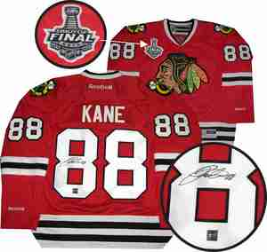 Patrick Kane - Signed Chicago Blackhawks 2015 Stanley Cup Champions Jersey
