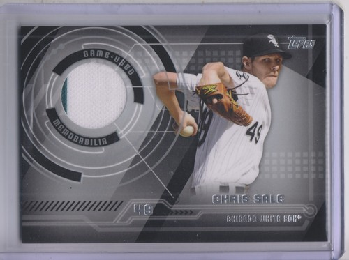 Photo of 2014 Topps Trajectory Relics #TRCSA Chris Sale