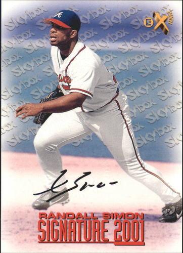 Photo of 1998 E-X2001 Signature 2001 #10 Randall Simon