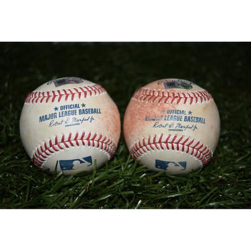 Photo of Game-Used Baseballs: Tampa Bay Rays vs Toronto Blue Jays - September 2, 2016