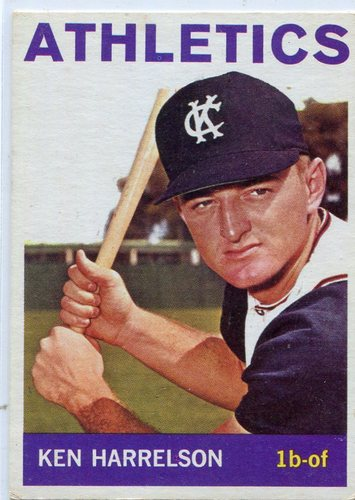 Photo of 1964 Topps #419 Ken (Hawk)  Harrelson Rookie Card