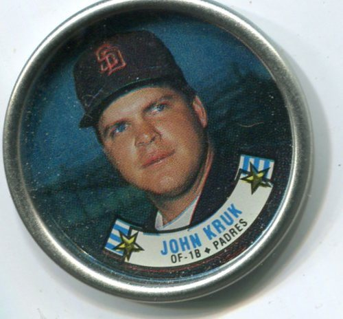 Photo of 1988 Topps Coins #45 John Kruk