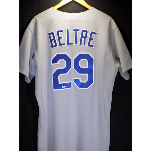 Photo of Game-Used Jersey - Adrian Beltre 1986 Road Throwback