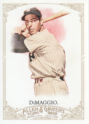 Photo of 2012 Topps Allen and Ginter #181 Joe DiMaggio