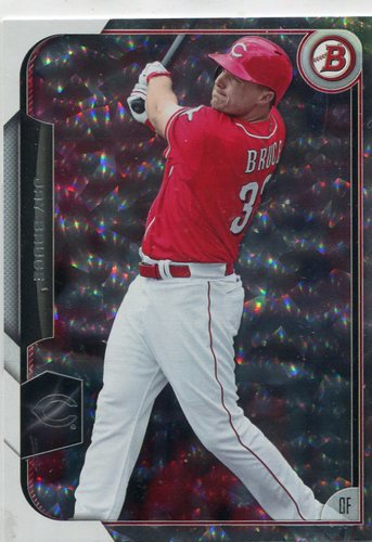 Photo of 2015 Bowman Silver Ice #4 Jay Bruce -- Indians post-season