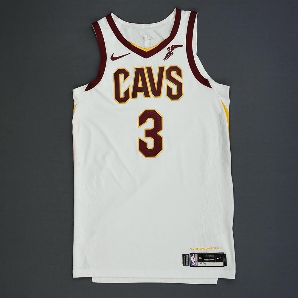 George Hill - Cleveland Cavaliers - Kia NBA Tip-Off 2018 - Game-Worn Association Edition Jersey