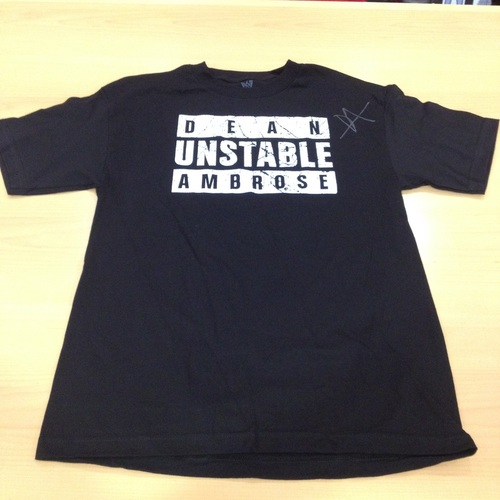 Dean Ambrose SIGNED Authentic T-Shirt