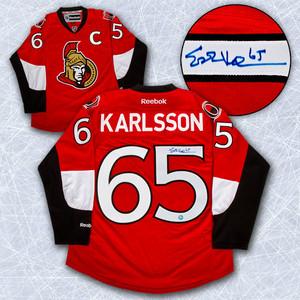 Erik Karlsson Ottawa Senators Autographed Reebok Premier Jersey