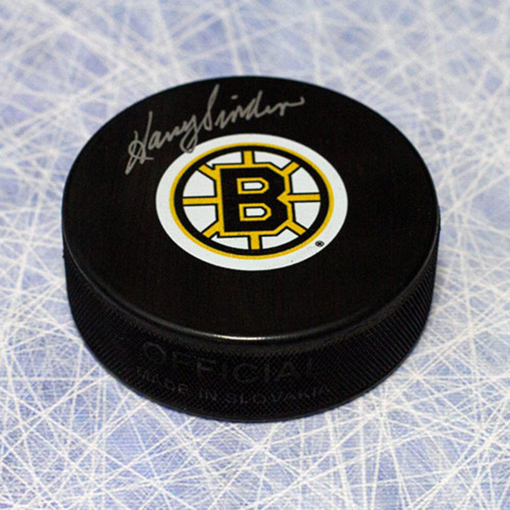 Harry Sinden Boston Bruins Autographed Hockey Puck