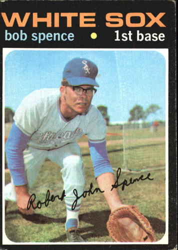 Photo of 1971 Topps #186 Bob Spence RC