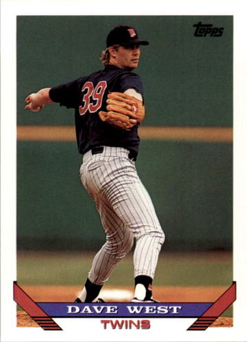 Photo of 1993 Topps #652 Dave West