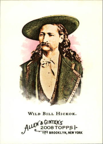 Photo of 2008 Topps Allen and Ginter #133 Wild Bill Hickok
