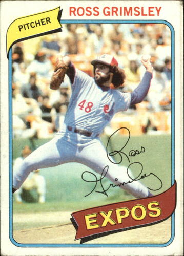 Photo of 1980 Topps #375 Ross Grimsley
