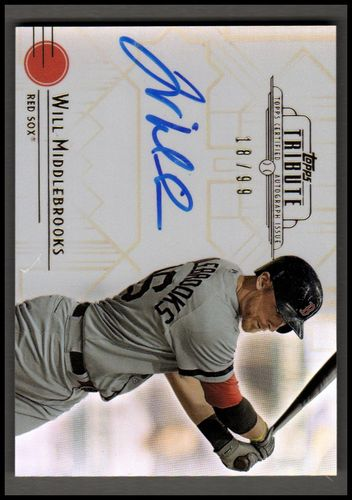 Photo of 2014 Topps Tribute Autographs #TAWMI Will Middlebrooks