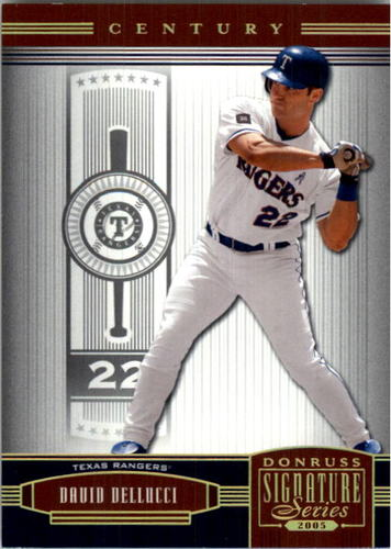 Photo of 2005 Donruss Signature Century Proofs Gold #143 David Dellucci