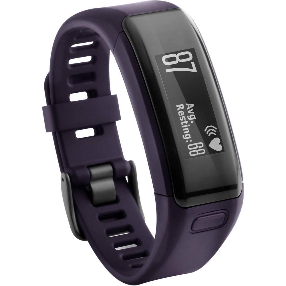 Garmin  010-N1955-01 Vivosmart HR Activity Tracker with Wrist-Based Heart Rate Monitor - Imperial Purple)