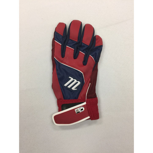 Photo of David Ortiz Autographed Game-Used June 10, 2016 Batting Glove