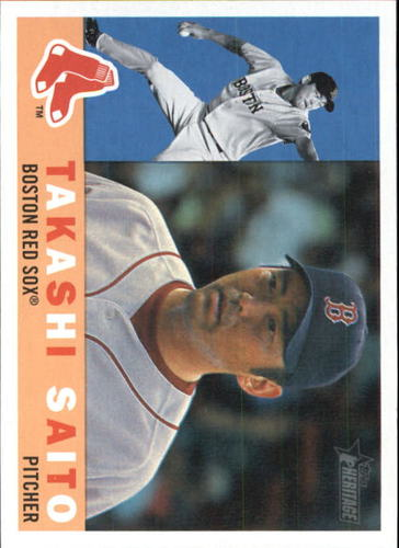 Photo of 2009 Topps Heritage #504 Takashi Saito