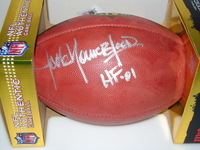 HOF - RAMS JACK YOUNGBLOOD SIGNED AUTHENTIC FOOTBALL